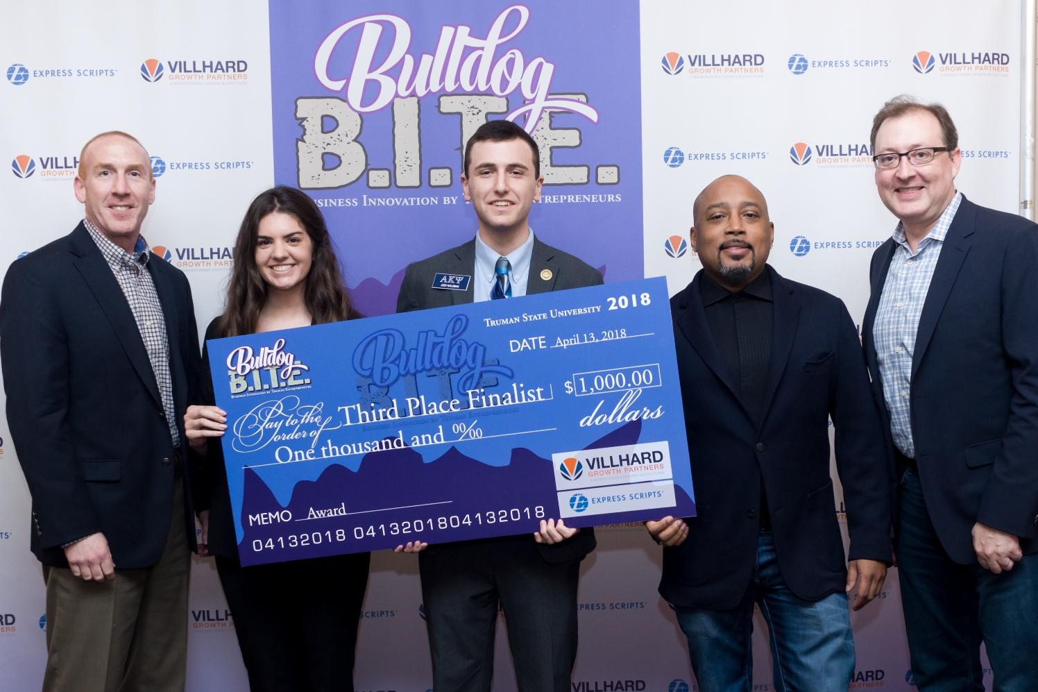 Third Place-2018 Bulldog B.I.T.E. Competition