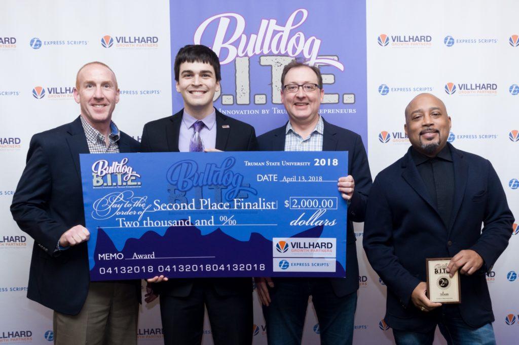 Second Place-2018 Bulldog B.I.T.E. Competition